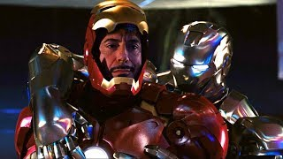 Iron Man vs Rhodey - Party Fight Scene - Iron-Man 2 (2010) Movie CLIP HD