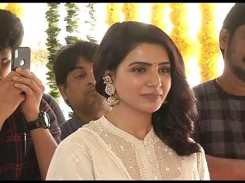 Chaitanya, Samantha New Movie Launch