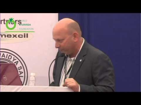 Presentation - Industrial Issues in concerning with Ayurveda Speech Delivered By Len Monheit,5th WAC