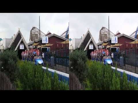 Blue Fire at Europa Park (Rust - Germany) (HD 3D)