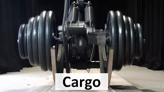 Cargo: Worlds most energy efficient legged robot