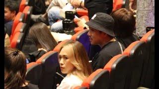 Mỹ Tâm đi xem phim, vào rạp gặp ngay Trấn Thành và Lê Giang ngồi ghế kế bên