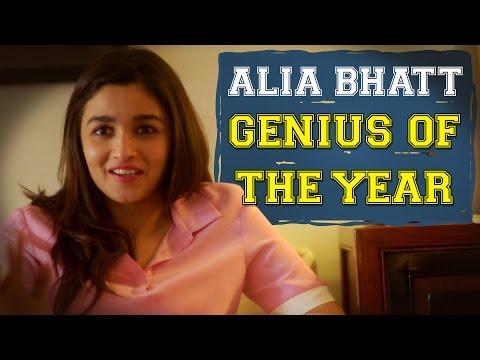 AIB: Alia Bhatt - Genius of the Year