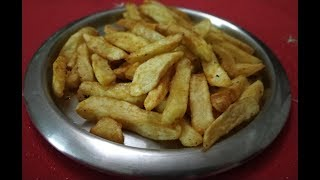 How to make McDonald's style french fries at home