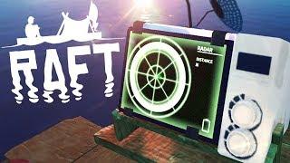 MYSTERIOUS SIGNAL ENDING? | Raft Co-Op Survival Part 5
