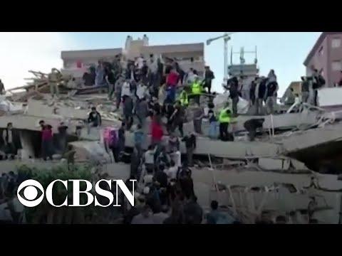 7.0 magnitude earthquake hits Turkey and Greece