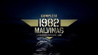 1982 MALVINAS LA GUERRA DESDE EL AIRE  -  COMPLETO