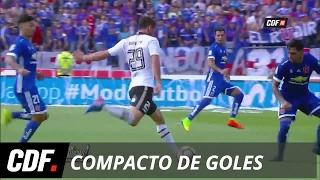 U. de Chile 2 - 2 Colo Colo | 9° Fecha | Torneo Clausura 2016 - 2017 | CDF