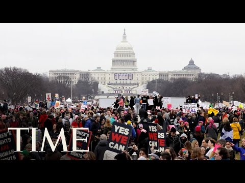 A Look At The Women's Marches Across The World   TIME