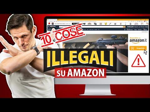 AMAZON: 10 cose ILLEGALI che non puoi comprare | Avv. Angelo Greco
