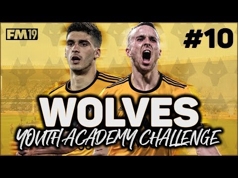 WOLVES YOUTH ACADEMY CHALLENGE #10: FM IS CRAZY!!! - FOOTBALL MANAGER 2019