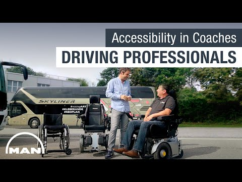 MAN Driving Professionals: Accessibility in Coaches