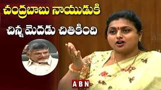 Roja Comments on Chandrababu in AP Assembly..