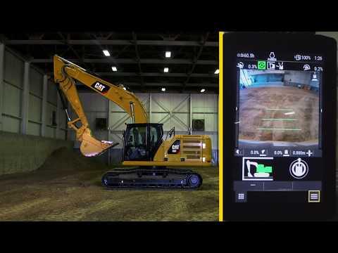 Förarinstruktioner, Cat 320 Next Generation: E-fence Cab Avoidance