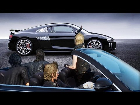 This Final Fantasy 15 Car is Cool, But Not $470,000 Cool - Up At Noon Live