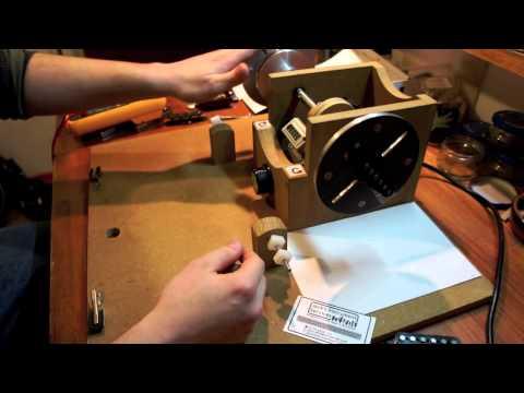 home made guitar pickup winder jack 39 s instrument services youtube. Black Bedroom Furniture Sets. Home Design Ideas