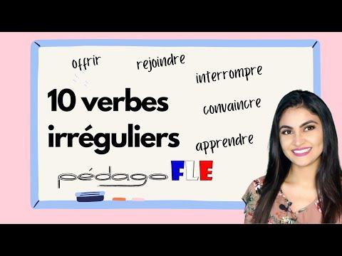 10 Verbos irregulares en FRANCES - Clase 18