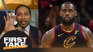 Stephen A. Smith on LeBron James: Can't forget his record of losing NBA Finals   First Take   ESPN