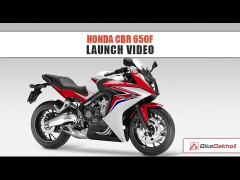 Honda CBR 650F LAUNCH | BikeDekho.com