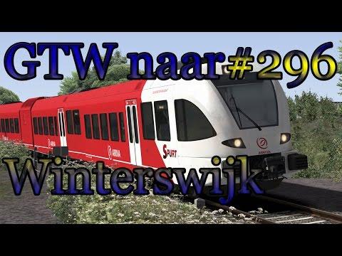 Met de GTW naar Winterswijk - Train Simulator 2017 #296