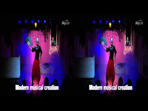 [Korea3DShowcase2012] 3D Arts Theatre by KTSKYLIFE(SKY3D)