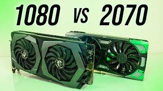 Nvidia GTX 1080 vs RTX 2070 - Benchmarks & Comparisons