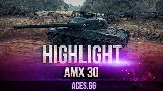 AMX 30 1er prototype и прогулки на Тихом Берегу