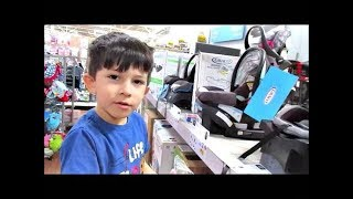 LOOKING AT CAR SEATS FOR THE NEW BABY