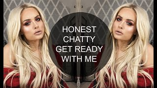 MY MOST HONEST CHATTY GRWM | Urban Decay Cherry | Jordan Bone