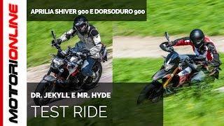 Aprilia Shiver 900 e Dorsoduro 900 | Test ride