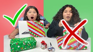 I'll BUY ANYTHING If You Can Wrap The Present CHALLENGE! Life with Brothers