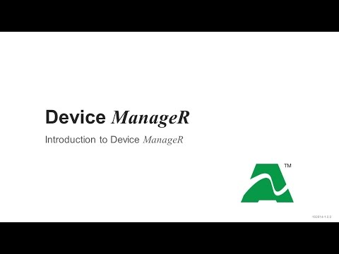 Device ManageR: Introduction