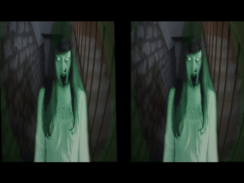 HORROR 3D ! Down stairs FEAR ! 3D VIDEO