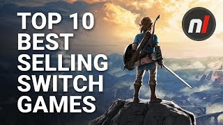 Top 10 Best Selling Nintendo Switch Games (First Party)