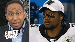 Stephen A.: Eric Reid should retire from the NFL and work for ESPN! | First Take