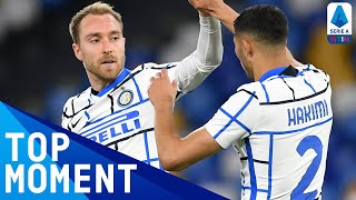 Eriksen scores his first goal of the season for Inter! | Napoli 1-1 Inter | Top Moment | Serie A TIM