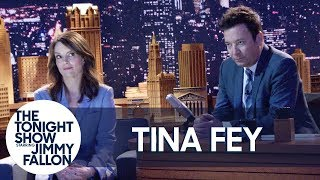 """Tina Fey Is Mad at Jimmy Fallon: """"He Knows What He Did"""""""
