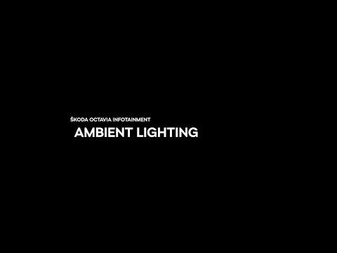 ŠKODA Infotainment -  Ambient lighting