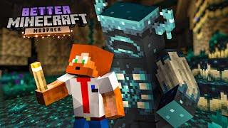 JAG STAL WARDENS DIAMANTER! (Better Minecraft)