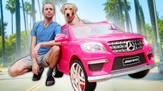 BUYING MY DOG A G WAGON!