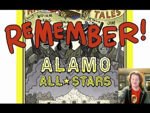 Nathan Hale's Hazardous Tales: Alamo All-Stars Trailer