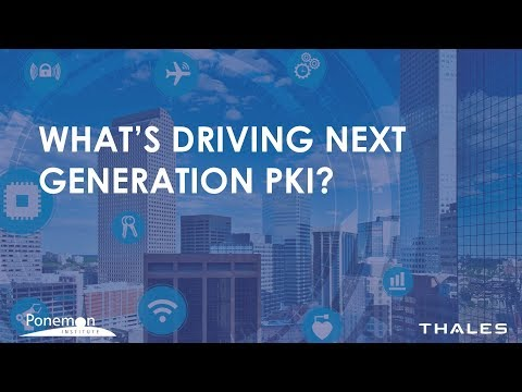 The Internet of Things (IoT) is the fastest growing trend driving the deployment of applications that use public key infrastructure (PKI).