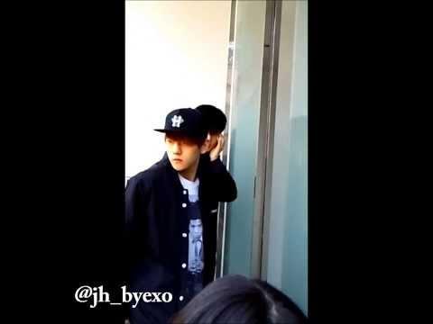 140309 exo baekhyun '(what?)' - we say