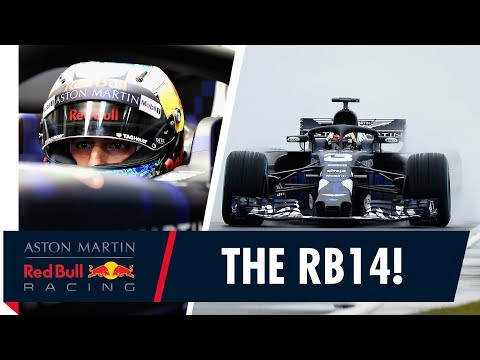 The RB14 takes to the track! | Special Edition livery launches at Silverstone Filming Day