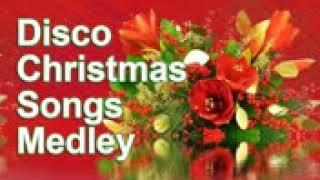 Non stop Christmas Songs Medley Disco Remix Half Hour