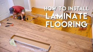 Installing Laminate Flooring For The First Time // Home Renovation