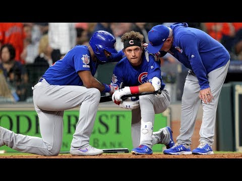 Albert Almora Jr. Emotional After Foul Ball Strikes Young Child