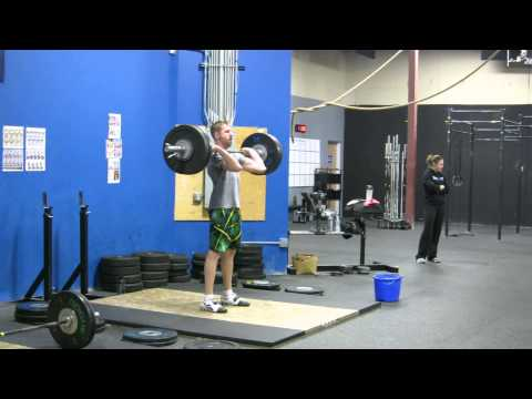 Mikey: 190lbs Clean and Jerk