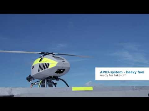 CybAero - Advanced autonomous deck landing test on moving vessel
