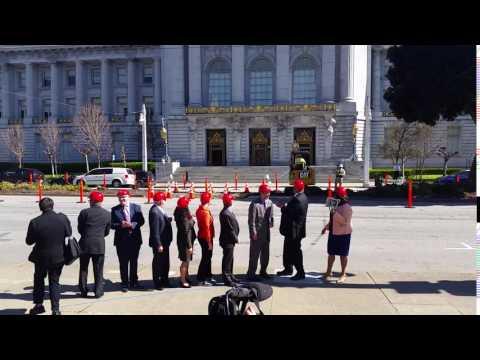 Van Ness Improvement Project Groundbreaking Ceremony, March 1, 2017